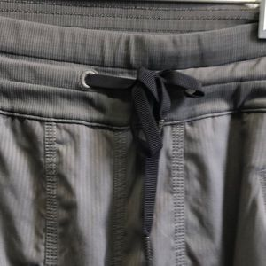 lululemon athletica Pants - Lululemon gray studio pant sz 4 62132
